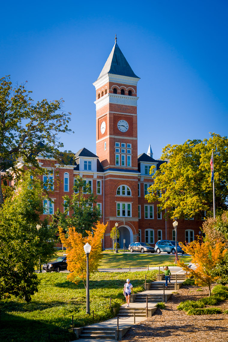 Architectural Photography of Clemson University Tillman Hall