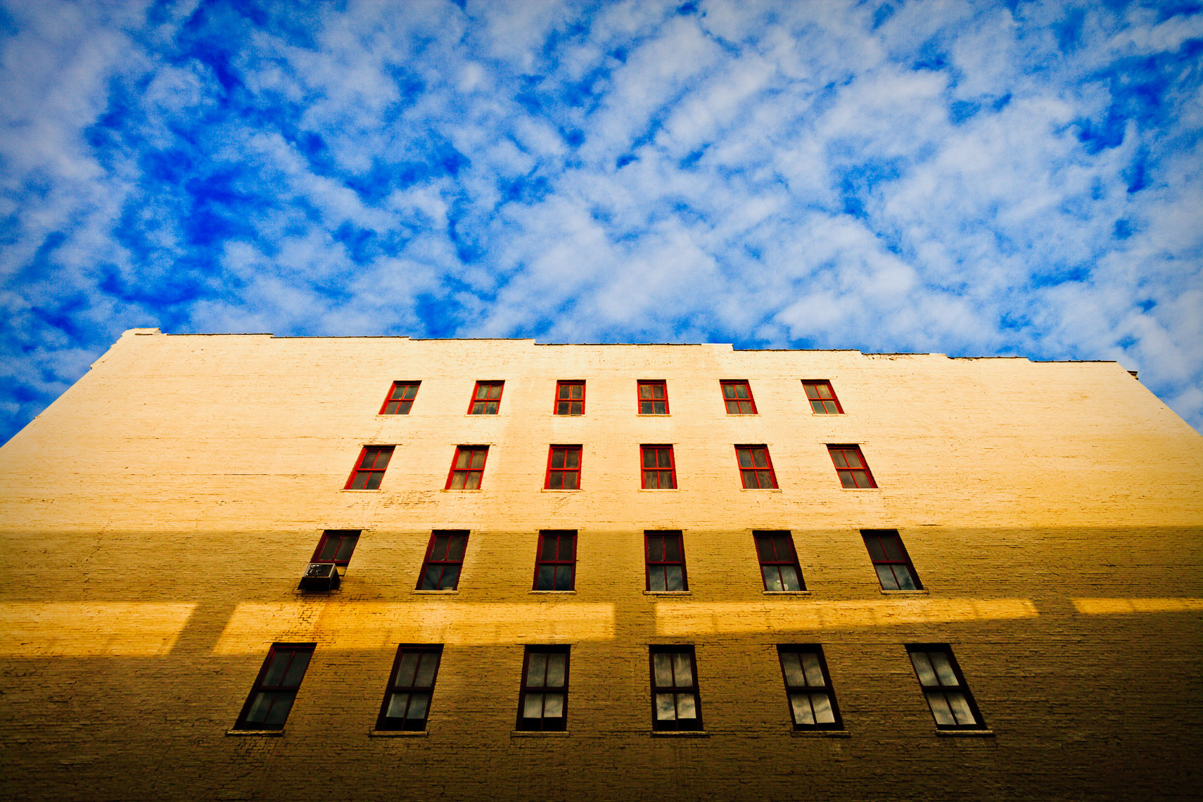 Architectural Photograph with Clouds