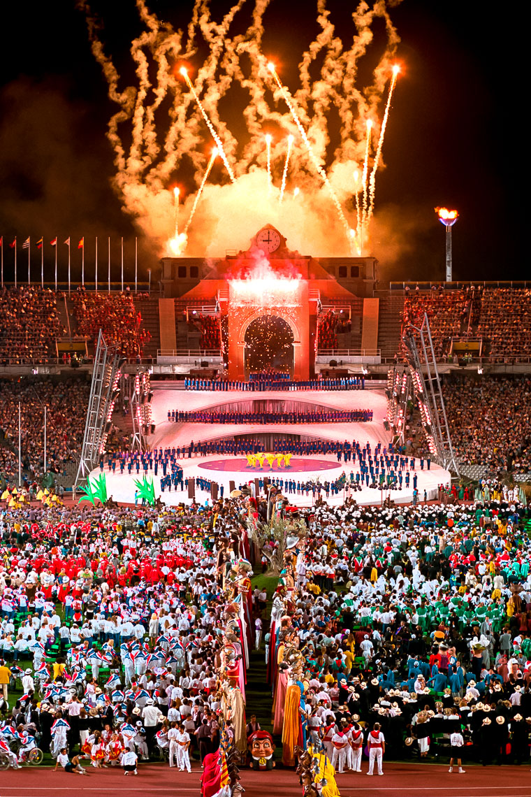 Barcelona Opening Ceremony Photo