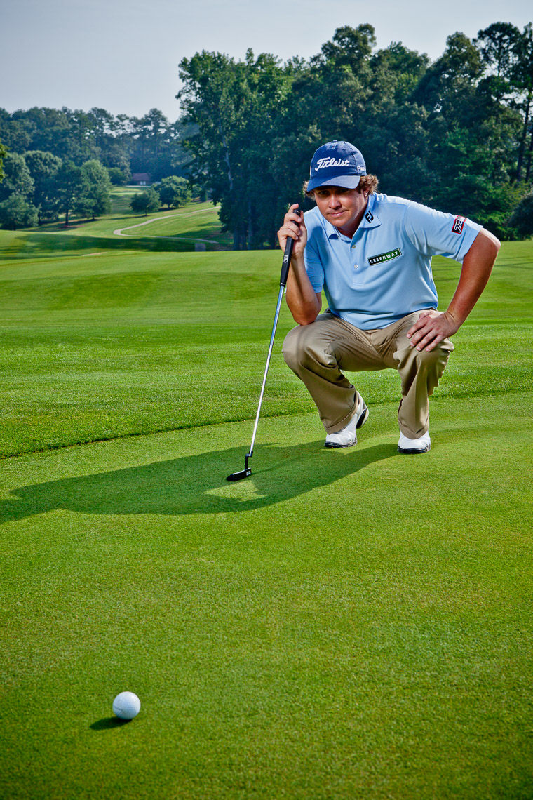 Professional Golf Photography Portrait