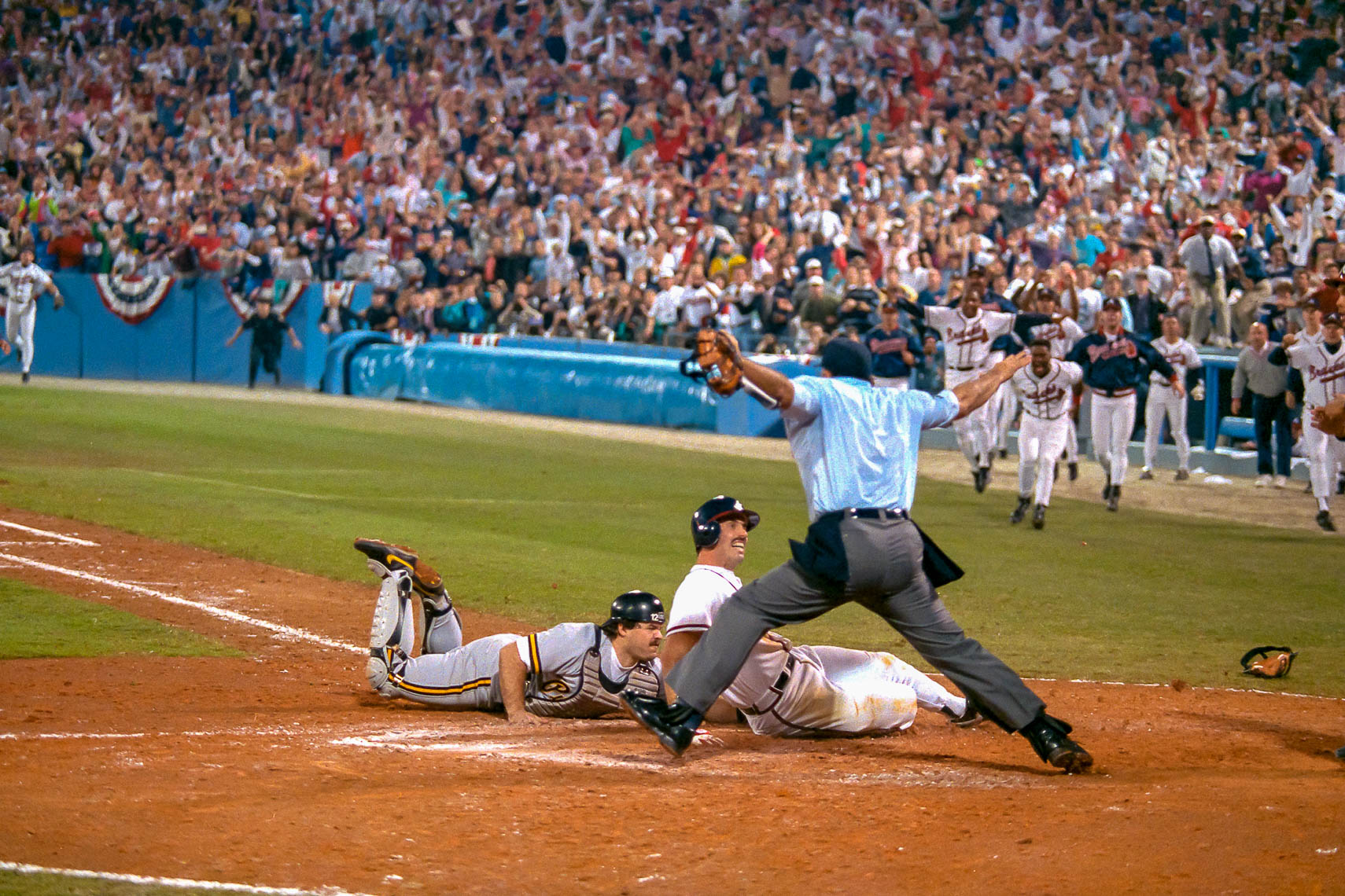 1992 Sid Bream Slide for the NLCS