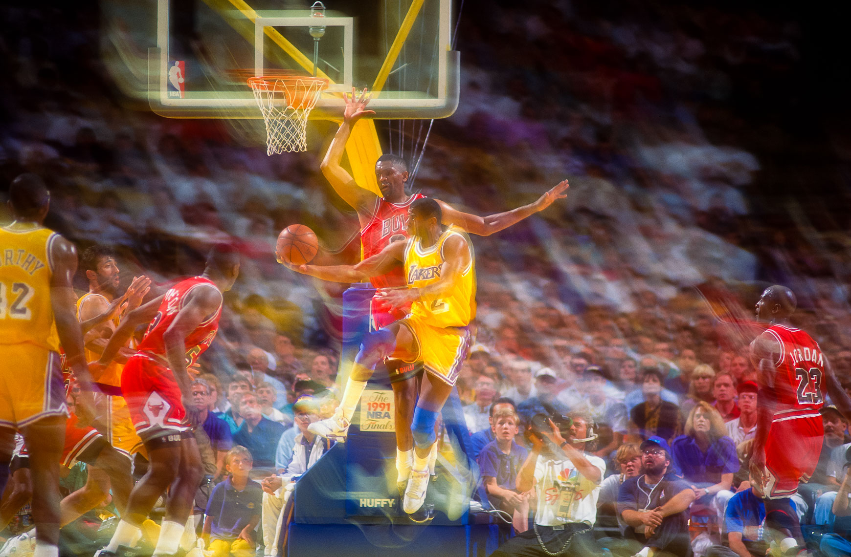 Magic Johnson Basketball Photography